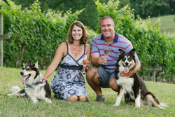 Owners and husband and wife team Jason and Laura Lavallee