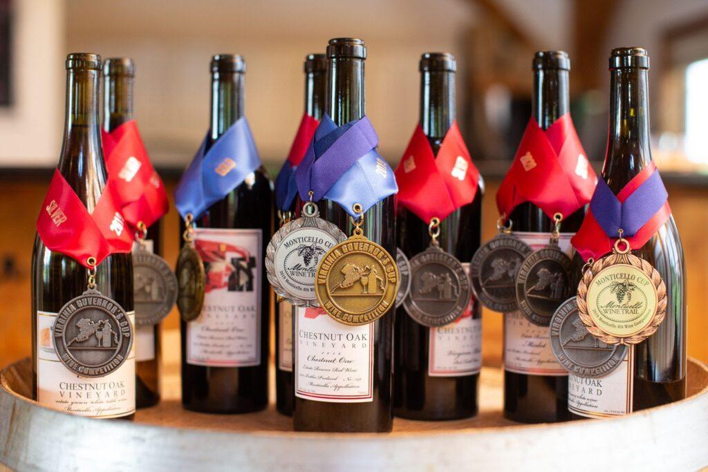 Chestnut Oak Winery best seller: Virginia Blend